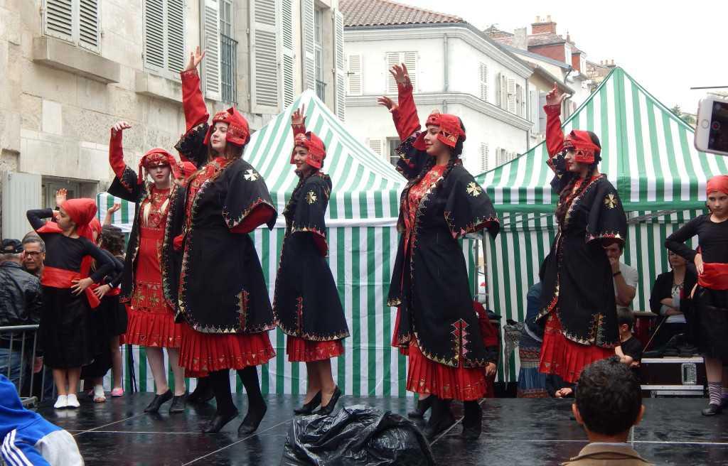 Danse géorgienne